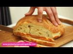 How to slice a loaf of bread