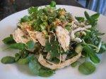 Oriental Chicken Salad Dish