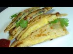 How to make Masala Egg Paratha - Indian Snack Recipes