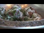 New Tracy Porter Cooking Video... Dill and Sour Cream New Potatoes