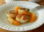 Seared Scallops with Orange Supremes and Jalapeno Vinaigrette – Styling and Flavor Profiling