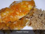 Wild Rice Stuffed Orange Chicken Recipe