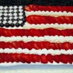 Red, White and Blue Strawberry Shortcake