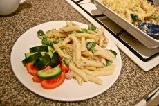 Lemon Broccoli & Tuna Pasta Salad