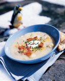 Fast and Easy No-Cream Baked Potato Soup Recipe