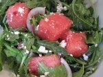 Classic Recipe For Watermelon, Feta, and Arugula Salad
