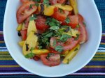 Tomato and Peach Salad Recipe