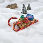Easy Holiday Cookie Project: Chocolate Chip Cookie Sleds