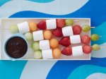 Beach Fruit Kabobs