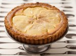 Pear & Almond Custard Tart