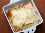 Enchiladas with Green Sauce and Cheese