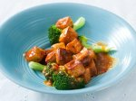 Orange Tofu and Broccoli
