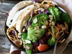 Spicy Peanut Butter Chicken Vegetable Stir Fry