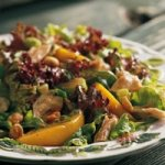 Peach and Peanut Salad Recipe