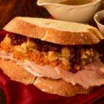 Paula Deens Holiday Leftovers Sandwich Recipe