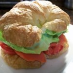 Croissandwich With Salmon And Goat Cheese Recipe