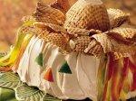 Easy Scarecrow Cake