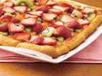 Strawberry-Kiwi-Almond Tart