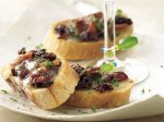 Sun-Dried Tomato and Bacon Bruschetta