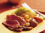 Slow Cooker Old-World Corned Beef and Vegetables