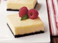 White Chocolate Cheesecake Bars