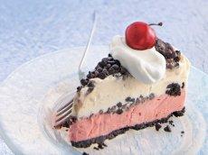 Chocolate-Cherry Ice-Cream Cake