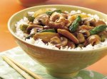 Chicken, Mushroom and Asparagus Stir-Fry