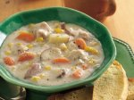 Slow Cooker Dill-Turkey Chowder