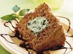 Mint Chocolate Chip Angel Food Cake