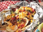 Grilled Tex-Mex Nacho Packets