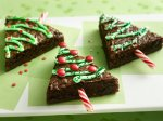 Traditional Holiday Tree Brownies