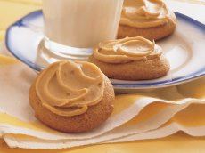 Browned Butter Cookies with Caramel Frosting