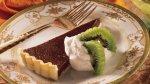 Bittersweet Chocolate Tart with Kiwifruit