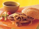 Slow Cooker Mushroom and Onion Pot Roast Sandwiches