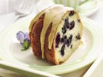 Blueberry Coffee Cake with Maple Glaze