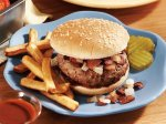 Bacon and Onion Smothered Burgers