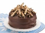 Toffee Butter Torte with Chocolate Ganache Frosting