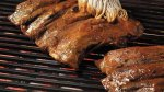 Beef Ribs with Dry Mustard Rub and Cider Mopping Sauce