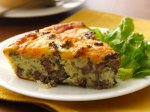 Gluten Free Impossibly Easy Cheeseburger Pie