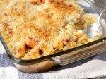 Macaroni & Cheesy Chicken Baked Casserole