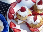 Lake Superior 4th of July Strawberry-Almond Shortcakes