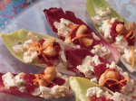 Endive with Cranberry Orange Chicken Salad