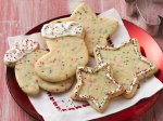 Confetti Christmas Cutout Cookies