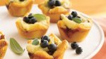 Blueberry, Walnut and Brie Tartlets
