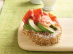 Smoked Salmon-Avocado Sushi Salad