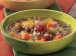 Slow Cooker Vegetable Soup with Barley