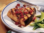 Swordfish with Strawberry Salsa