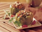 Slow Cooker Couscous-Stuffed Peppers