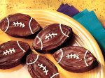 Traditional Brownie Footballs