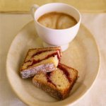 Cranberry Sour Cream Coffee Cake Recipe